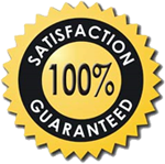 Our Unique, 100%, No Risk Satisfaction Guarantee