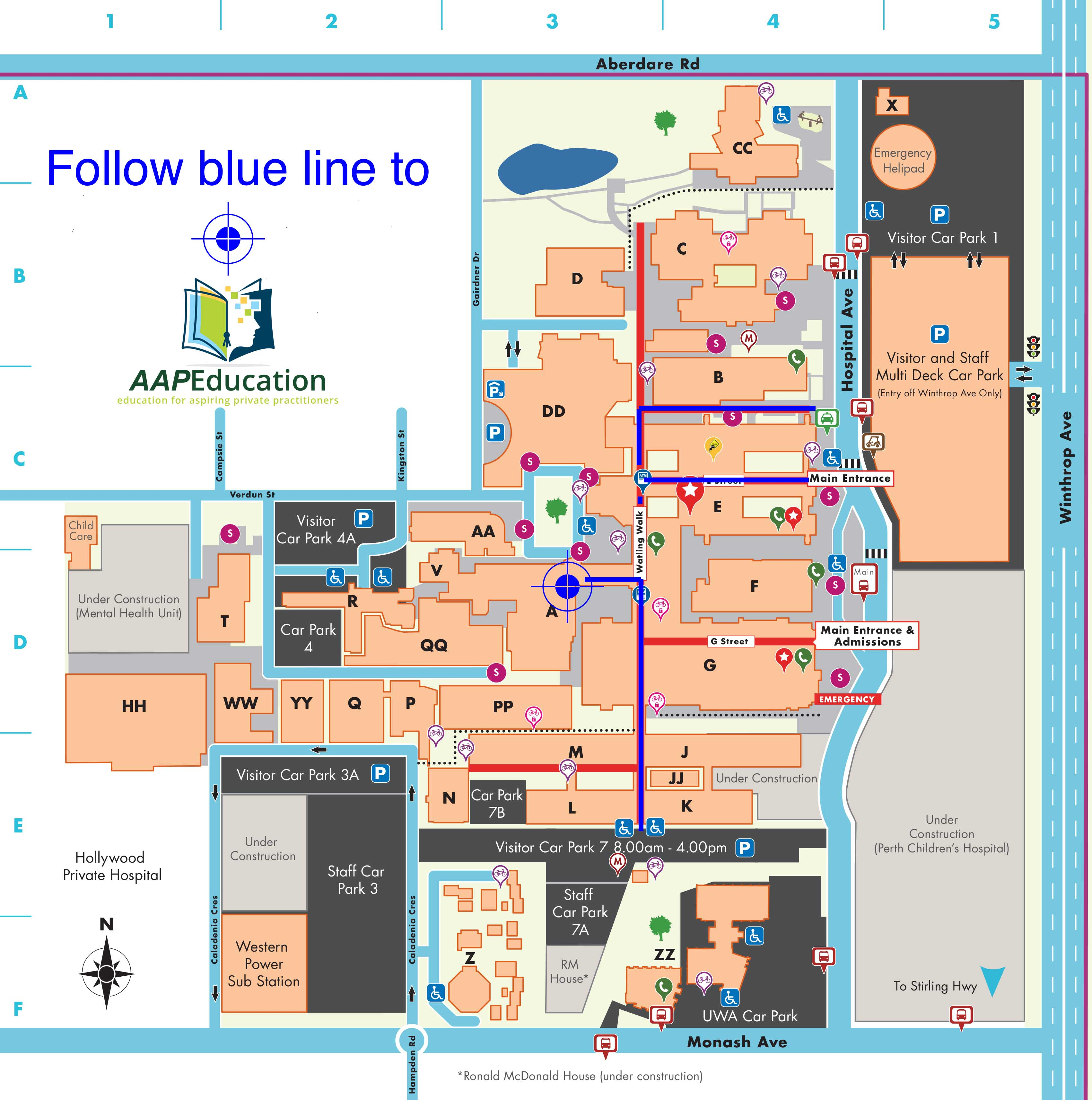 SCGH Map