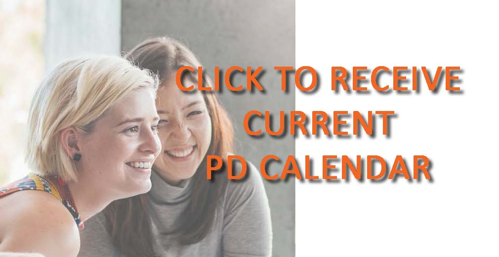 Click to download the current PD Calendar