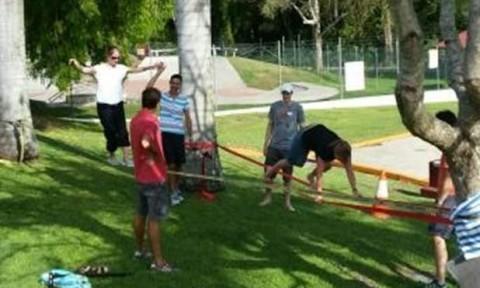 Slackining Course in Australia