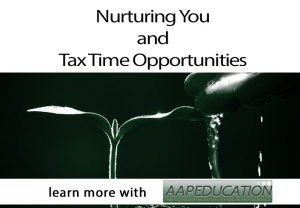 Nurturing You & Tax Time Provides Opportunities