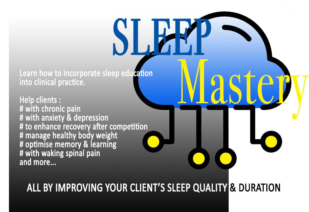 Sleep Mastery web slider