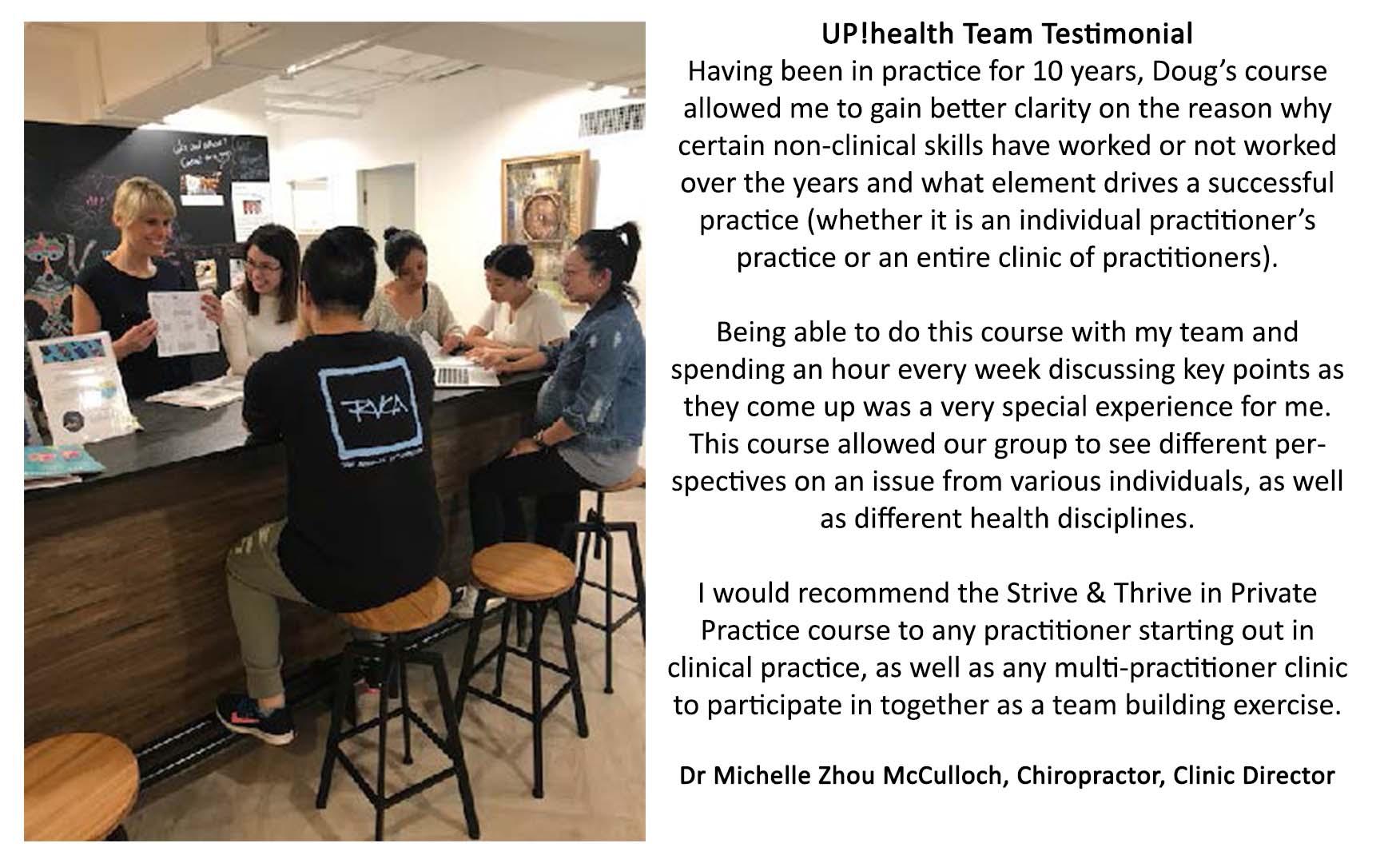 Uphealth testamonial